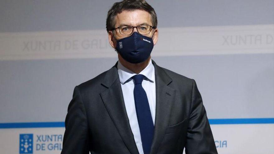 farodevigo.es: Feijóo pide que el uso de las mascarillas FPP2 sea obligatorio.